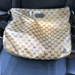 Gucci messenger bag Authentic